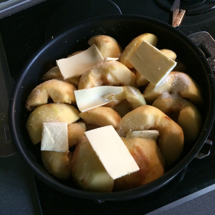 Dressage des pommes